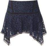 Veronica Beard Aura Asymmetrical Skirt