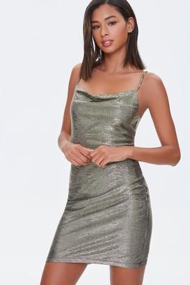 Forever 21 Cowl Neck Bodycon Dress