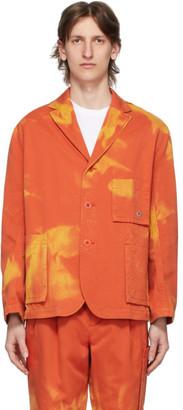 Études Orange Bleached Jacket