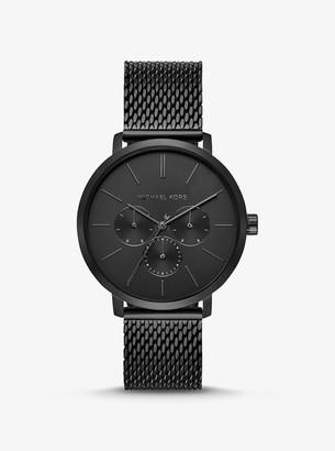 Michael Kors Oversized Blake Black-Tone Mesh Watch