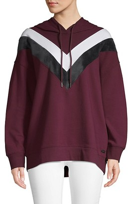 Andrew Marc High-Low Boyfriend Hoodie