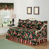 Waverly Charleston Chirp Noir Reversible Daybed Quilt Set
