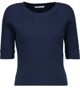 Carven Ribbed Cotton Sweater