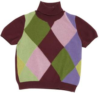 Malo Burgundy Cashmere Knitwear for Women