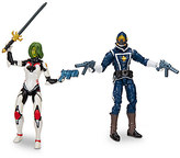 Disney Gamora and Star-Lord - Marvel Legends Series Action Figure Set - Guardians of the Galaxy - 6''