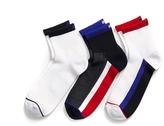 Tommy Hilfiger Quarter Top Athletic Socks 3pk