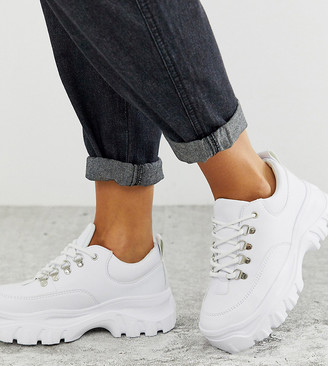 Truffle Collection wide fit chunky sneakers