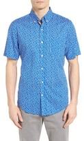 Vineyard Vines Men's Woodblock Floral Murray Slim Fit Sport Shirt