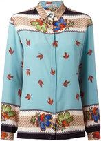 Etro floral print shirt - women - Silk - 44
