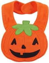 Carter's Jack-O-Lantern Terry Teething Bib by
