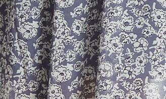 Love Stitch Chiffon Floral Printed Surplice Dress