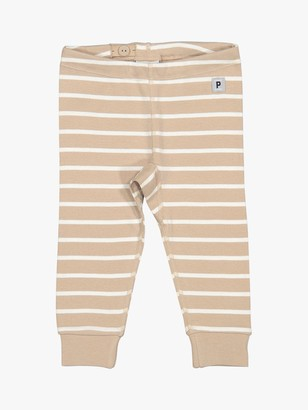 Polarn O. Pyret Baby GOTS Organic Cotton Stripe Leggings