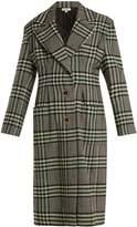 Natasha Zinko Single-breasted wool-blend tweed coat
