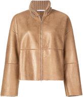 Fabiana Filippi roll neck boxy jacket