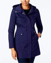 Cole Haan Packable Hooded Raincoat