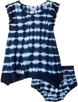 Splendid Littles Tie-Dye Crinkle Jersey Dress Girl's Dress