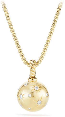 David Yurman Solari 18k Gold Diamond Pendant Enhancer