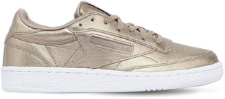 Reebok Classics Club C 85 Hype Metallic Leather Sneakers