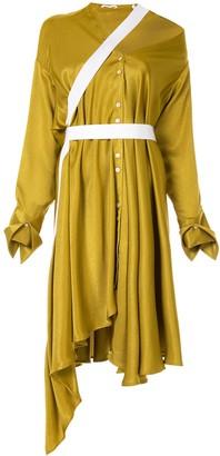Palmer Harding Heathers asymmetric shirt dress