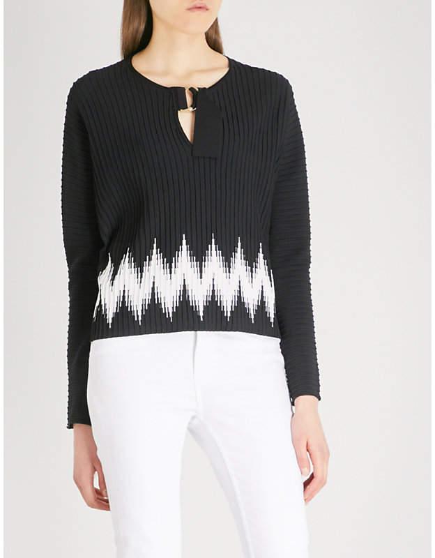 Maje Martha knitted jumper
