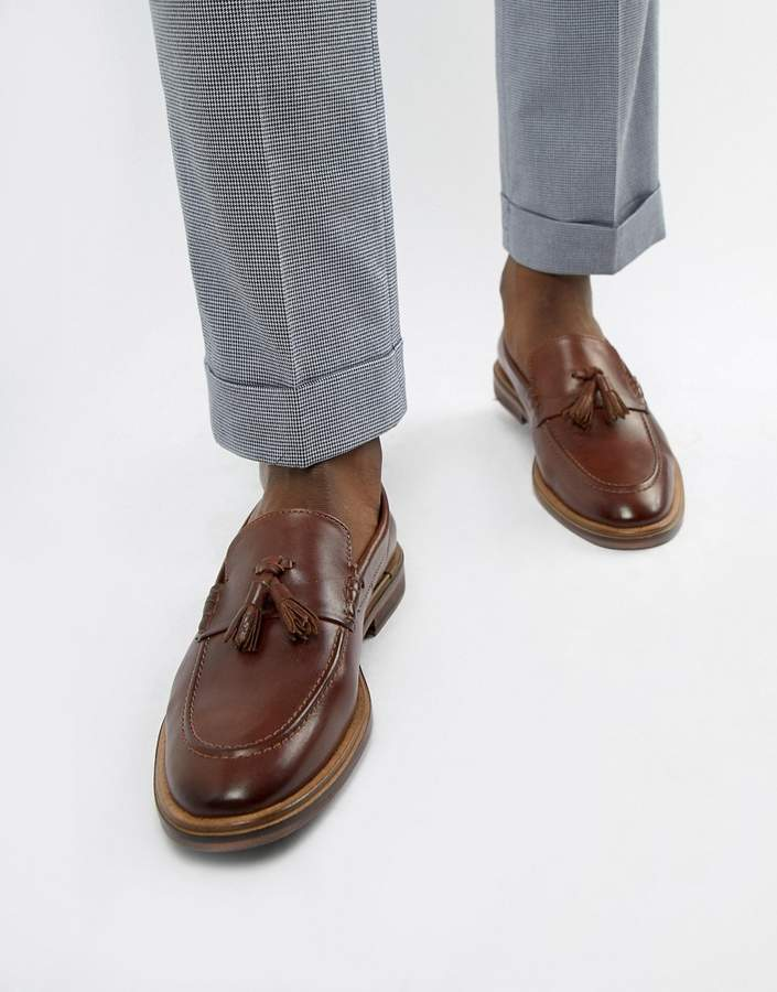 080cbcdf716a0 Brown Leather Tassel Loafers Men | over 300 Brown Leather Tassel Loafers  Men | ShopStyle