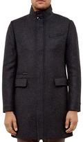 Ted Baker Logan Wool Blend Coat
