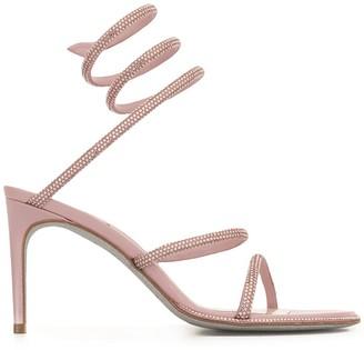 Rene Caovilla Cleo twist sling back sandals