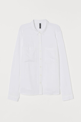 H&M Viscose Shirt - White