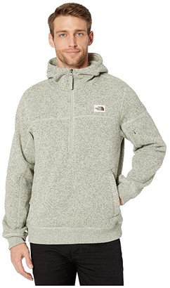 The North Face Gordon Lyons Pullover Hoodie (Granite Bluff Tan Heather) Men's Clothing