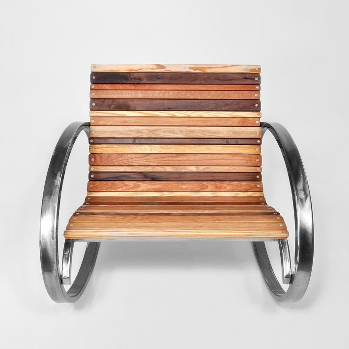 west elm Mixed Wood Rocker