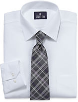 STAFFORD Stafford Travel Easy-Care Dress Shirt and Tie Set - Big And Tall