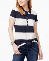 Tommy Hilfiger Rugby Striped Polo Shirt, Only at Macy's