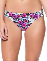 Jessica Simpson Shirred Hipster Swim Bottoms