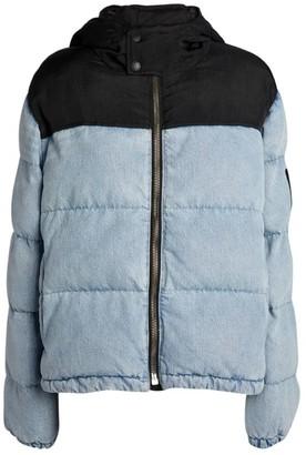Alexander Wang Two-Tone Puffer Jacket