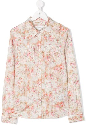 Bonpoint TEEN Ebonie rose-print shirt