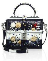 Dolce & Gabbana Embellished Leather Crossbody Bag