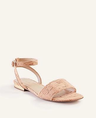 Ann Taylor Adley Cork Sandals