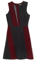 Vince Camuto Colorblocked A-line Dress