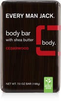 Every Man Jack Cedarwood Body Bar with Shea Butter