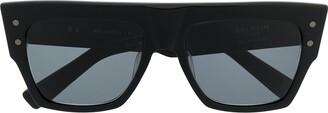 Balmain Eyewear x Akoni B-I large square sunglasses