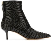 Francesco Russo pointed toe ankle boots