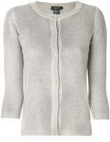 Avant Toi cashmere fitted cardigan