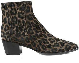 Rag & Bone Rover Cheetah-Print Suede Ankle Boots