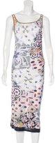 Philosophy di Alberta Ferretti Abstract Print Sleeveless Dress