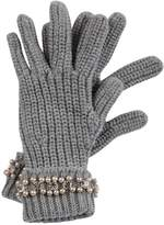Blugirl Pearl Embellished Gloves