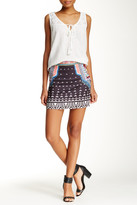 Flying Tomato Printed Mini Skirt