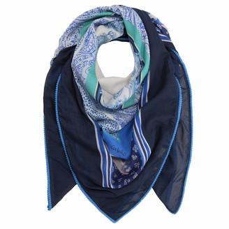 Codello Women's XL-Tuch aus Baumwolle und Modal mit Seide Cotton Scarf with Silk
