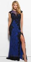 Mac Duggal Veronica Lace Illusion Prom Dress