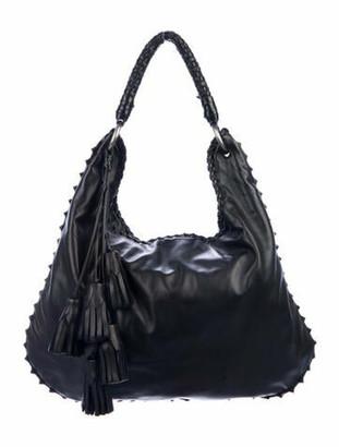 Anthony Luciano Leather Hobo Black