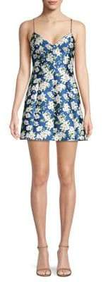Alice + Olivia Tayla Floral Mini Dress